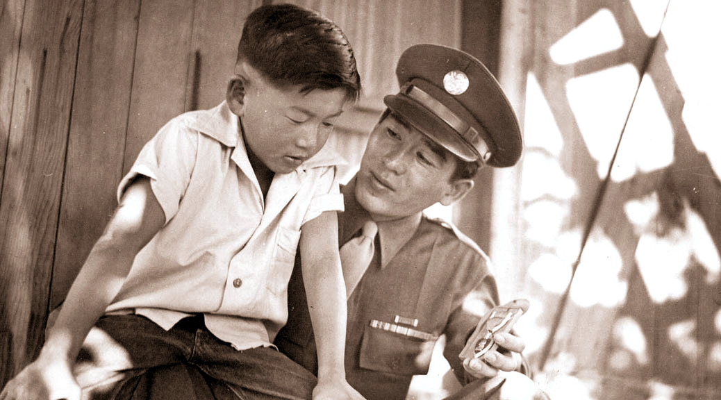 Kazuo Komoto and brother