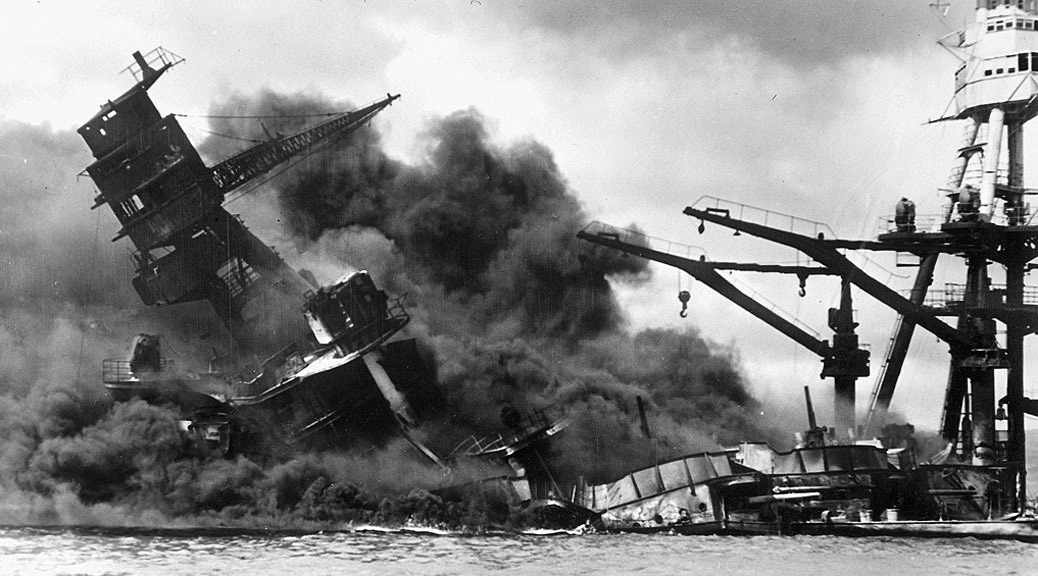 USS Arizona, Pearl Harbor attack